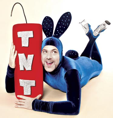 The one and only Scotty the Blue Bunny