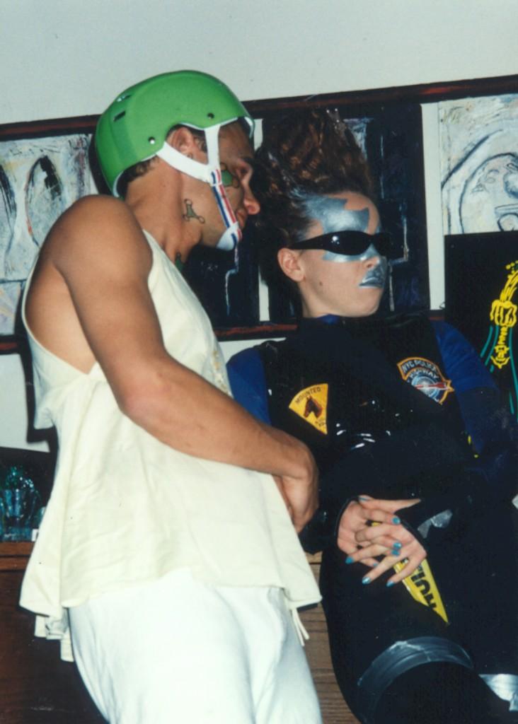 Eliot Angel (Lacouf) and Ilyana Kadushin (The Policeman)