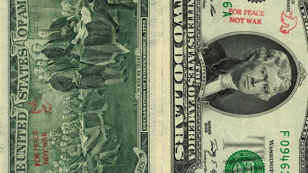 2 bill not war